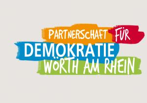 Logo Partnerschaft für Demokratie Wörth am Rhein