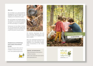 Flyer Naturkindergarten